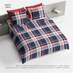 Комплект постельного белья Евро Браво 100% хлопок рис.1384-1 Марко - фото 31276