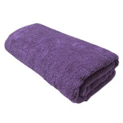 Махровые полотенца Моно 40* 70 фиол - фото 31379