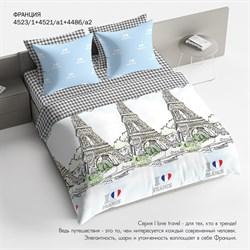 Комплект постельного белья 1.5 Браво Франция - фото 31400
