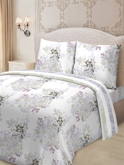 Комплект постельного белья евро Для SNOFF сатин Шейби - фото 31479