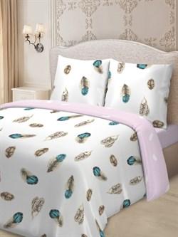 Комплект постельного белья семейный Для SNOFF сатин  Валентайн - фото 31488