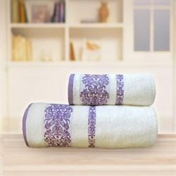Махровые полотенца Арабелла 50* 90 розовое - фото 31503