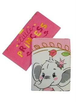 Набор полотенец ВТ Little Princess м1152 33*70 + 60*120 - фото 31544