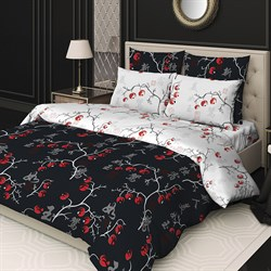 Комплект постельного белья евро Сорренто 4 нав. Рябинка - фото 31668