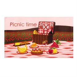 Махровые полот ВТ Кухня Пикник м1156_02 S 30* 50 роз - фото 34279