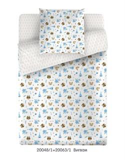 КПБ Маленькая Соня  м105.05.04 Вигвам (голубой) - фото 35140