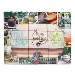 Набор салфеток 3шт тройка - Чай Т-40 ДТ - фото 36174