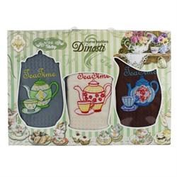 Набор салфеток 3шт тройка - Элитный чай Т-20 ДТ - фото 36176