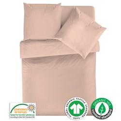 КПБ евро Organic перкаль м251.14.06 рис.4601-1 Розовый туман - фото 36631