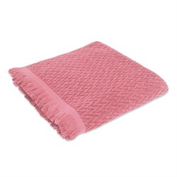Махровое полотенце СТ Сонет м5018_29 L 70*130 брусн - фото 36718