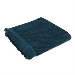 Махровое полотенце СТ Сонет м5018_01 L 70*130 син - фото 36805