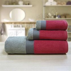 """Махровое полотенце """"Колорс"""" тер. 33x70 (Х)"""