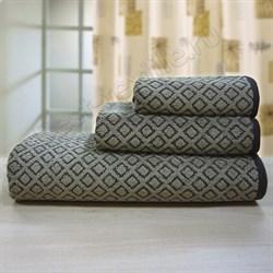 """Махровое полотенце """"Ромб"""" кор. 33x70 (Х)"""