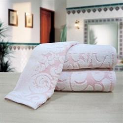 """Махровое полотенце """"Версаль"""" роз. 70x130 (Х)"""