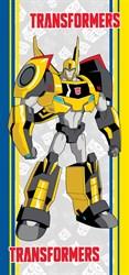 """Махровое полотенце """"Transformers"""" 1088 сер. 33x70 (Х)"""
