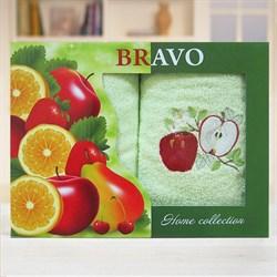 Набор полотенец  Фрукты/овощи 0626-03 зел.