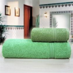 """Махровое полотенце """"Таис"""" зел. 33x70"""