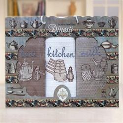 """Кухонный набор полотенец """"Kitchen"""" 3пр."""