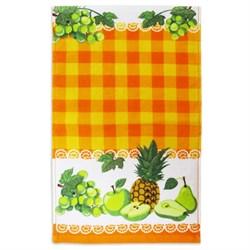 Махровые полот ВТ Кухня Фрукты 30* 50 оранж