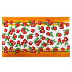 Махровые полот ВТ Кухня Черешня  30* 50 оранж