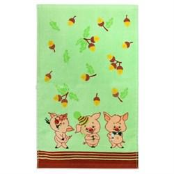 Махровые полотенца  Кухня Жёлуди  30* 50 зеленые