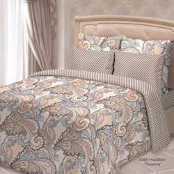 Комплект постельного белья евро Сорренто Жаклин 4 нав.  Лорелла