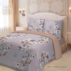 Комплект постельного белья семейный Для SNOFF сатин Рузанна
