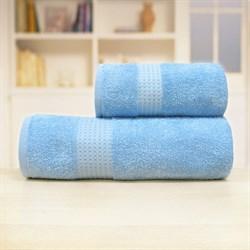 Махровые полотенца Самур 70*140 синий