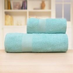 Махровые полотенца Самур 70*140 зеленый