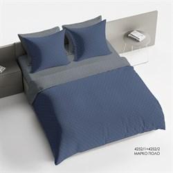 Комплект постельного белья 1.5 Браво Сатин рис.4252-1+4252-2 Марко Поло