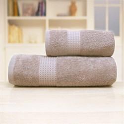 "Махровое полотенце ""Самур"" хлопок беж 33х70"