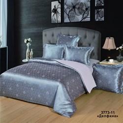 Комплект постельного белья евро Версаль рис.3773-11 Делфина