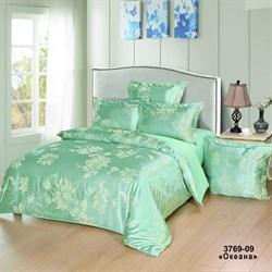 Комплект постельного белья евро Версаль  рис.3769-09 Океана
