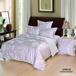 Комплект постельного белья евро Версаль рис.3768-22 Сюзанна