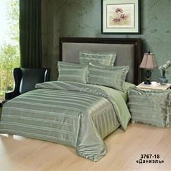 Комплект постельного белья евро Версаль рис.3767-18 Даниэль