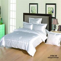 Комплект постельного белья евро Версаль рис.3764-20 Каролина