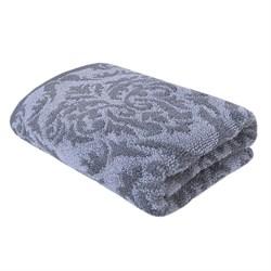 Махровые полотенца Изабелла L 70*140 сер