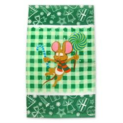 Махровые полотенца Кухня Монпансье 30* 50 зеленое
