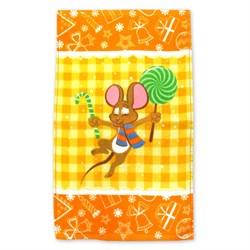 Махровые полотенца Кухня Монпансье S 30* 50 желтое