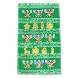 Махровые полотенца Кухня Пряники 30* 50 зеленое