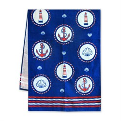 Махровые полотенца Регата 60*120 синий