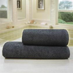 Махровые полотенца Моно 40* 70 корич
