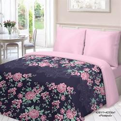 Комплект постельного белья семейный Для Снов рис.4281-1+4233а-1 Розарий