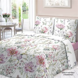 Комплект постельного белья 1.5 Для Снов рис.4361-1+4210а-1 Полетта
