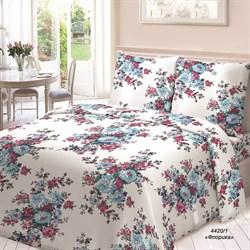 Комплект постельного белья Евро Для Снов рис.4420-1 Флорика