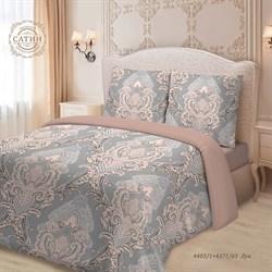 Комплект постельного белья семейный Для SNOFF сатин рис.4403-1+4371а-1 Луи