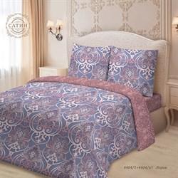 Комплект постельного белья семейный Для SNOFF сатин рис.4404-1+4404a-1 Лоран