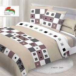 Комплект постельного белья евро Спал Спалыч рис.3746-1 Элит