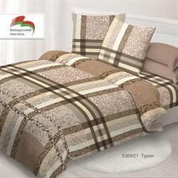 Комплект постельного белья семейный Спал Спалыч рис.5368-1 Турин