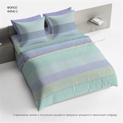 Комплект постельного белья Евро Браво 100% хлопок рис.4454-1 Фонсо